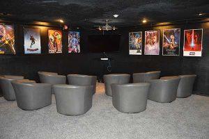 Calo media room